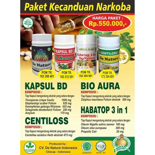 Foto Produk Obat Herbal Mengobati Kecanduan / Pecandu -Narkoba- Tanpa Rehabilitasi dari Pusat De Nature Herbal