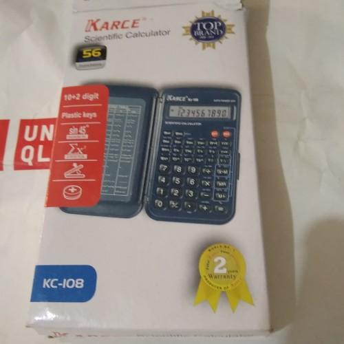 Foto Produk Kalkulator Karce KC-D108 10 digits dari kawi cimanggis