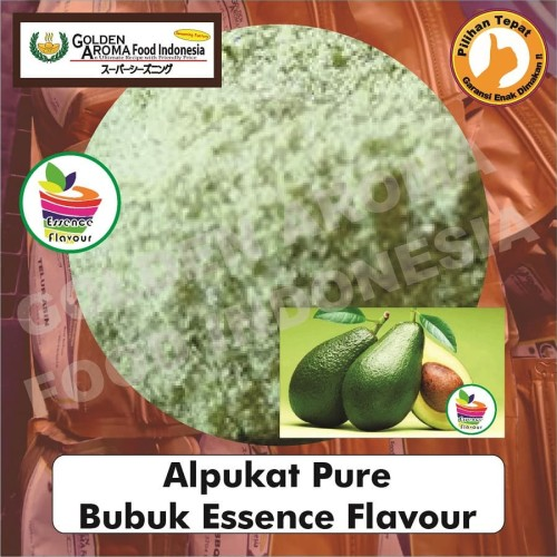 Foto Produk Bubuk Alpukat Pure 1/2 Kg Essen Flavor Ekstrak Avocado Murni GAFI dari Pensil hb Asli Merk 2