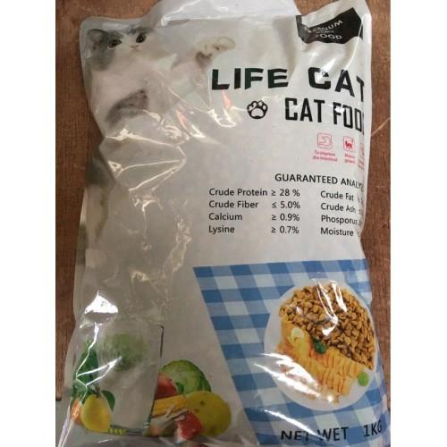 Foto Produk Life Cat Repack 1Kg - Makanan Kucing Life Cat - Food dari Memang Pet Shop