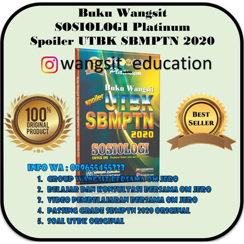 Foto Produk Buku Wangsit Spoiler UTBK SBMPTN 2020 SOSIOLOGI Platinum dari Buku Wangsit SBMPTN