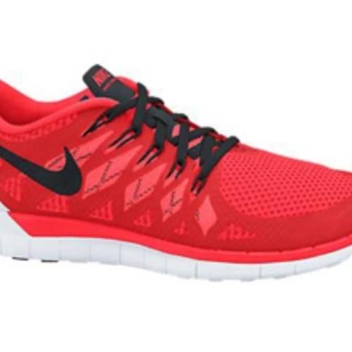 Nike Free 50 Bright Crimson Kids - Orange Sepatu Lari