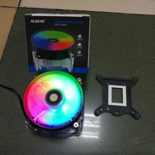 Foto Produk Alseye Airmax AS-GH115X-35MR CPU Cooler Gaming RGB GH115X-35MR dari scriptechnology