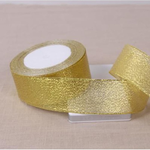 Foto Produk Pita Emas Gold Kado Seserahan Hantaran 1 1/2 inch (3,8 cm) dari laris shops
