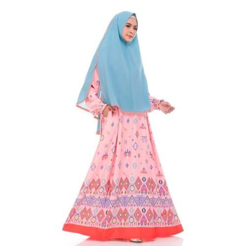 Foto Produk GAMIS BALOTELLI NIBRAS NS 40 PINK - DRESS MUSLIMAH SYARI TERBARU - XS dari ZarifaHouse