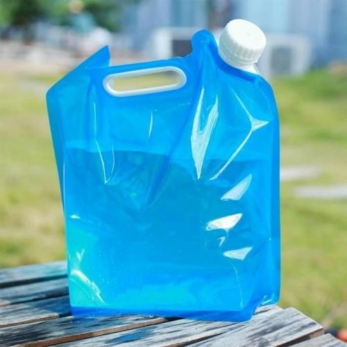 Foto Produk Jirigen Lipat Kantong Air 10 Liter Portable Water Camping Storage dari Rajawali Adventure