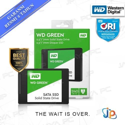 """Foto Produk WD Green SSD 240GB Sata 3 - WDC Green 240 GB 2.5"""" dari Jaya PC"""