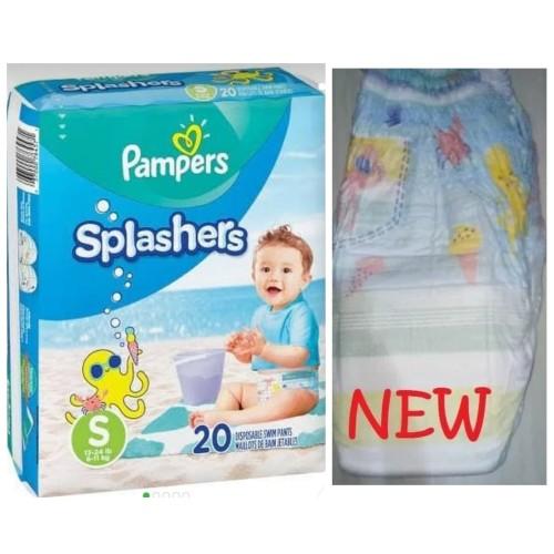 Foto Produk Pampers Splashers Swim Diaper Popok Renang Size 3-4 - S utk 6-11kg dari Baby Ananta