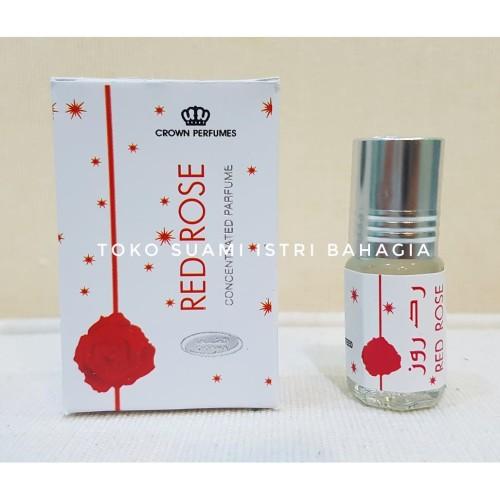 Foto Produk Minyak Wangi Arab Sholat Red Rose 3ml Dobha Asli / Oleh Oleh Haji dari Toko Suami Istri Bahagia