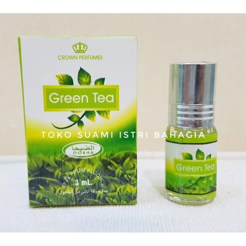 Foto Produk Parfum Sholat Wangi Green Tea 3ml Dobha Asli / Oleh Oleh Haji dari Toko Suami Istri Bahagia