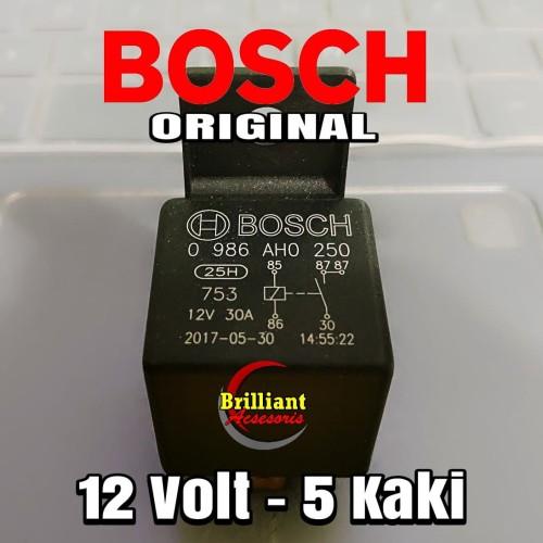 Foto Produk Relay Bosch 12v kaki 5 dari Galaxy Otomotive