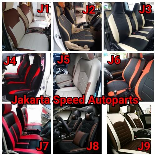 Foto Produk Sarung Jok Kulit Mobil Agya Ayla Brio Jazz Yaris Vios City Wagon R dari Jakarta Speed Autoparts