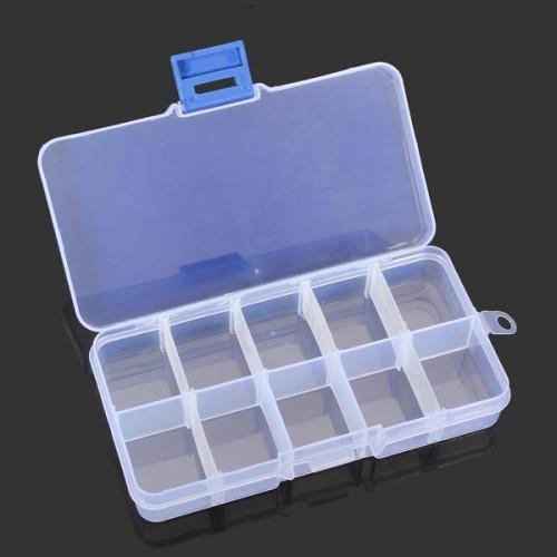 Foto Produk Terlaris 10 Grid Kotak Penyimpanan Multifungsi Kotak Alat Adjustable dari W brands Store