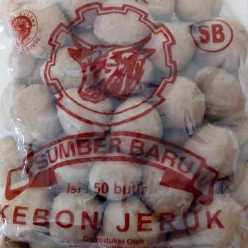 Foto Produk Baso daging sapi kebon jeruk isi 50 pcs dari Hanum Collection