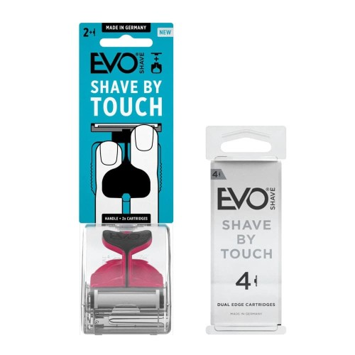 Foto Produk EVOSHAVE Hot Pink + Cartridge isi 4 dari EVO Shave Indonesia