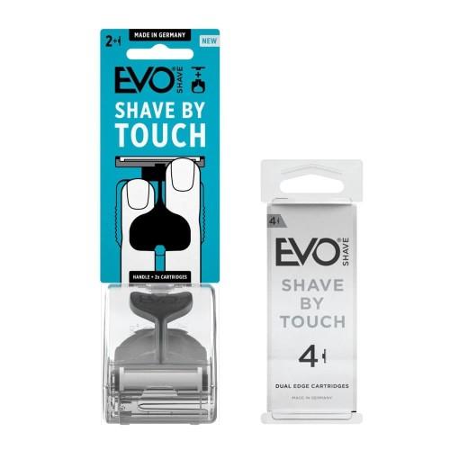 Foto Produk EVOSHAVE Jet Grey + Cartridge isi 4 dari EVO Shave Indonesia