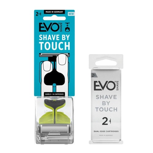 Foto Produk EVOSHAVE Sports Green + Cartridge isi 2 dari EVO Shave Indonesia