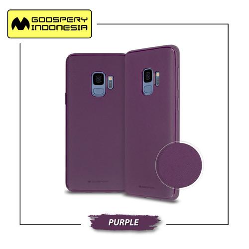 Foto Produk GOOSPERY Samsung Galaxy A8 2018 A530 Style Lux Jelly Case - Purple dari Goospery Indonesia