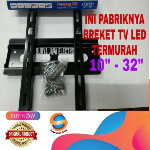 Foto Produk breket tv led lcd TERMURAH bracket braket dari surya jaya electro