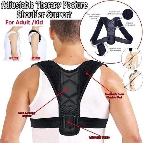 Foto Produk Alat sabuk penyangga postur tulang belakang punggung bahu tegak alami dari ica ali