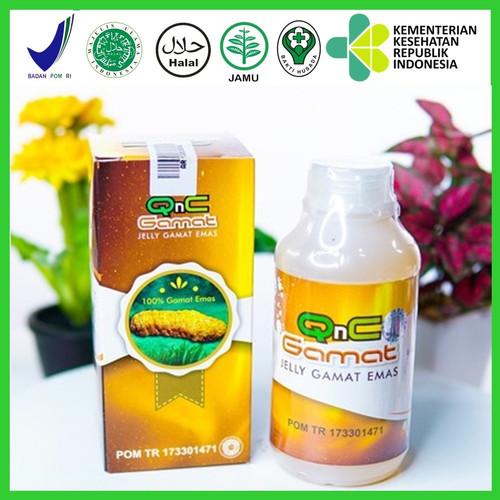 Foto Produk Obat Benjolan Lipoma Paling Ampuh - QnC Jelly Gamat dari AGEN OBAT HERBAL WALATRA