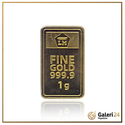 Foto Produk Logam Mulia 1 gr Antam - Galeri 24 dari Galeri 24 by Pegadaian