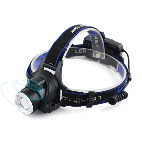 Foto Produk Senter Kepala Sensor Gerak / Headlamp Cree XM-L T6 3000 Lumens dari Sungai Kuning