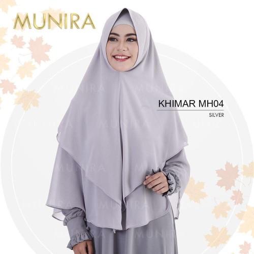 Foto Produk PROMO! Munira Khimar MH 04 Bahan Ceruty dari FarraShop