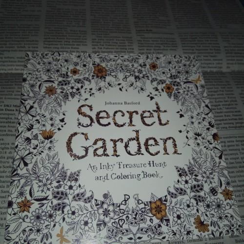 Foto Produk Secret Garden coloring book - pocket adult colouring book dari JFR Shop