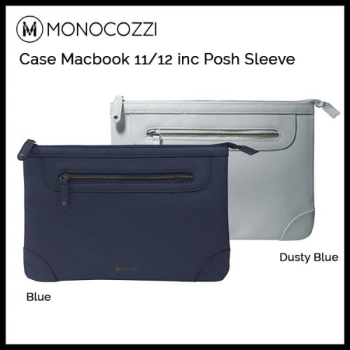 Foto Produk Monocozzi Bag Macbook 11inc/12inc Posh Sleeves Blue - Blue dari Originalroom