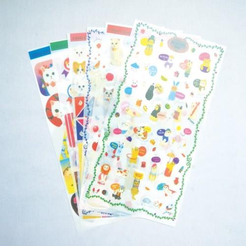 Foto Produk Choo Choo Cat Diary Deco Stickers / Sticker Unik / Sticker Lucu dari Pinkabulous
