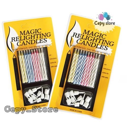 Foto Produk Lilin Magic / Lilin Ulang Tahun Ajaib / Magic Relighting Candle dari Cepy Store