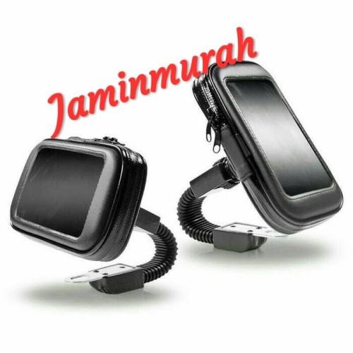 Foto Produk Waterproof Holder Motor Spion Phone Holder Motor dari jaminmurah899