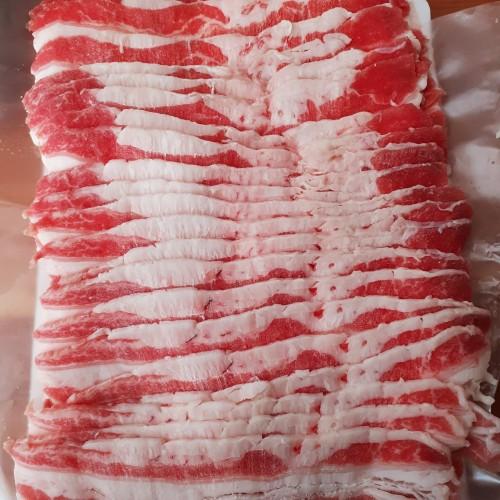 Foto Produk USA Beef Short Plate - Daging Slice Yoshinoya Yakiniku Shabu Suki 1kg dari Master daging