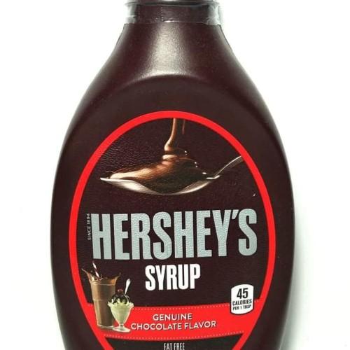 Foto Produk Hershey Syrup Chocolate 680gram, SUPER SPESIAL PRICE !! BEST SELLER ! dari jubair kamal