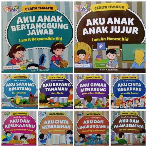 Foto Produk Buku Cerita Tematik - Buku Anak Cerita Billingual Full Color dari Toko Buku dan Stationery