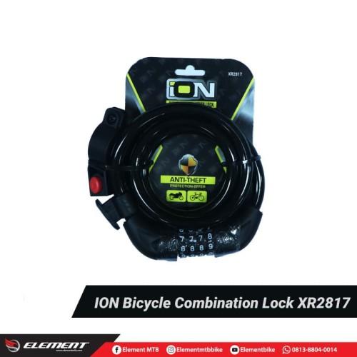 Foto Produk Gembok Sepeda/Lock Sepeda/Kunci Sepeda ION 2817 dari ElementIndonesia