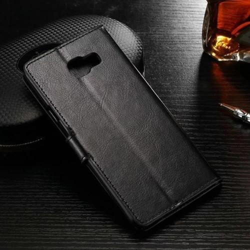 Foto Produk Samsung Galaxy C9 Pro C9Pro Flip Wallet Kulit Leather Cover Case Kartu dari 17 Agustus