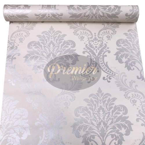 Foto Produk Batik Perak Vintage Wallpaper  45CM x 10M dari Premier Wallpaper