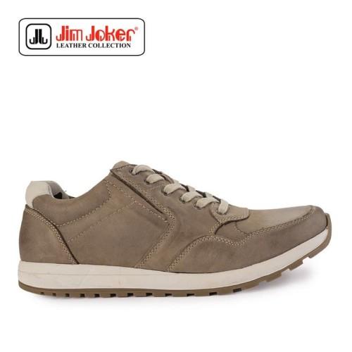 Foto Produk Sepatu Jim Joker Lens 1 C Sneakers Beige Pria Original dari Modsos