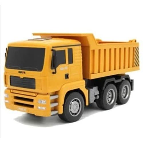 Foto Produk Huina 1332 RC Dump Truck 1/18 6CH Mainan Remote Alat Berat dari RCmania Hobby