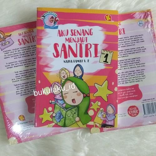 Foto Produk Komik Anak Islam Aku Senang Menjadi Santri Jilid 1 dari bukulaku.id