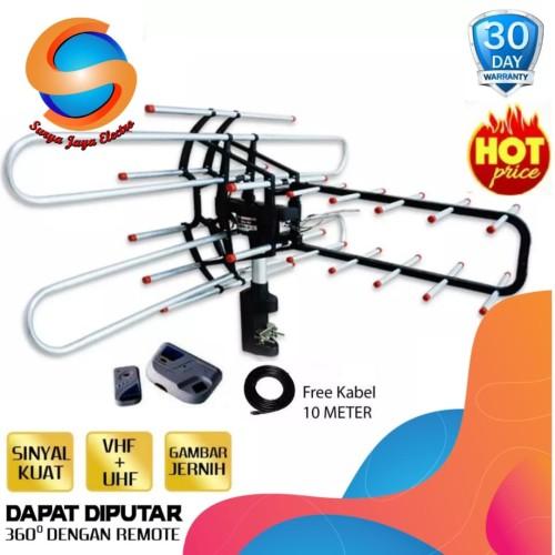 Foto Produk Antena remote + booster + kabel dari surya jaya electro
