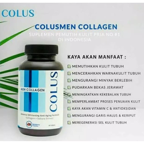 Foto Produk COLUS Men Collagen Suplemen Pria dari SEKOM ONLINE STORE