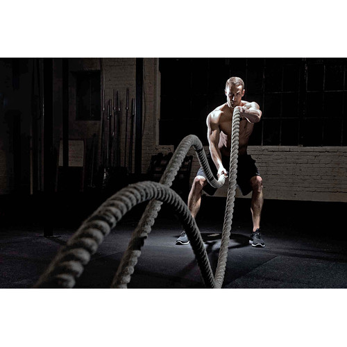 Foto Produk Premium Battle Rope 15 Meter Terra XT |Tali Fitness Battling Ropes Gym dari iringjakarta