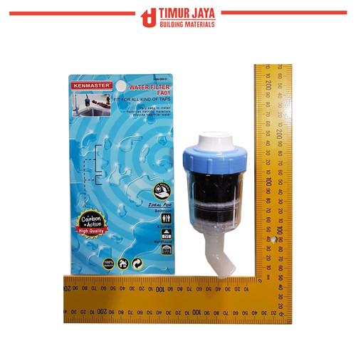 Foto Produk Saringan carbon active Kenmaster filter air kran water skls zernii dari TOKO BESI TIMUR JAYA