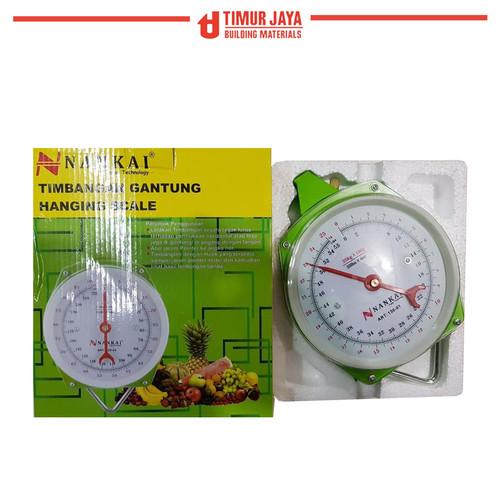 Foto Produk Timbangan Gantung 25kg 25 kg Hanging Scale - Alat Ukur Berat NANKAI dari TOKO BESI TIMUR JAYA