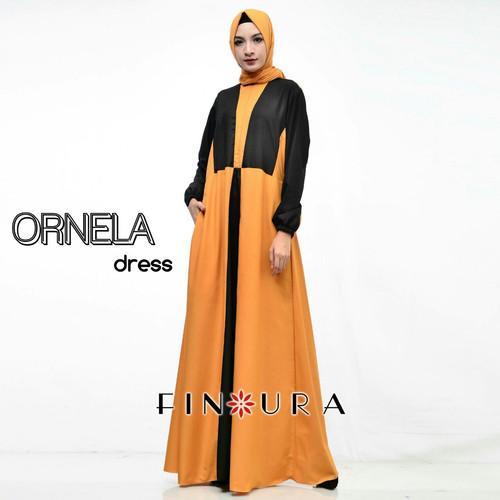 Foto Produk Ornela Dress by Finoura dari finoura