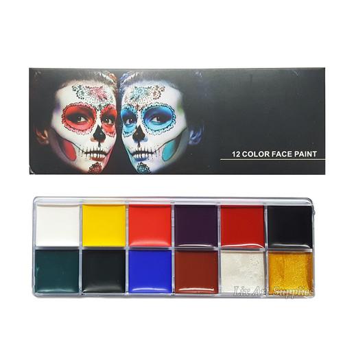 Foto Produk Face & Body Paint Set 12 Color dari Lix Art Supplies