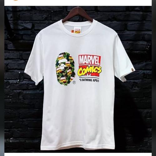Foto Produk Bape x Avengers Marvel comics - S dari six6street